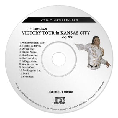 Jacksons Victory Tour Kansas Audio concert