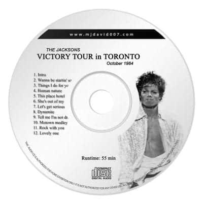 Jacksons Victory Tour Toronto Audio concert