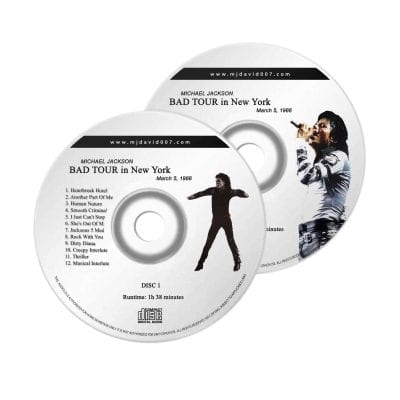 Michael Jackson Bad New York Audio concert