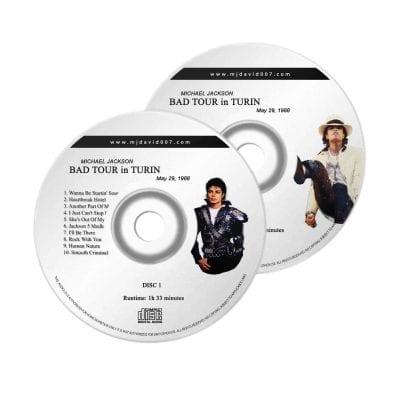 Michael Jackson Bad Turin Audio concert