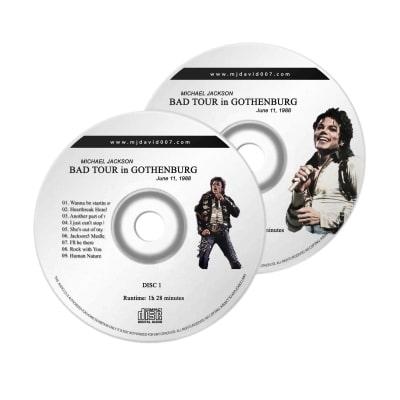 Michael Jackson Bad Gothenburg Audio concert
