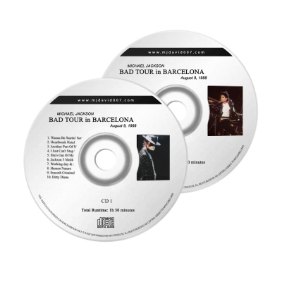 Michael Jackson Bad Barcelona Audio concert