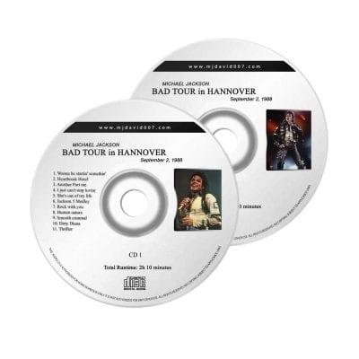 Michael Jackson Bad Hannover Audio concert