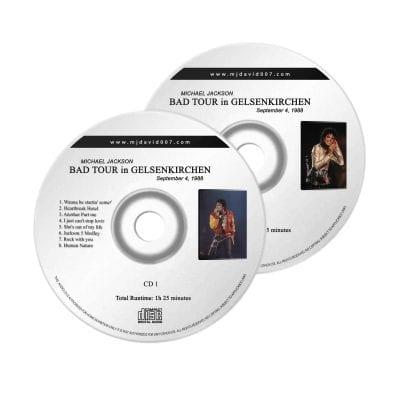 Michael Jackson Bad Gelsenkirchen Audio concert