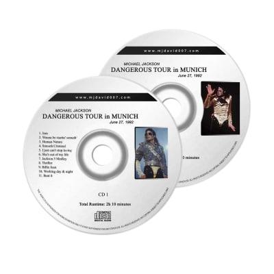 Michael Jackson Dangerous Munich Audio concert