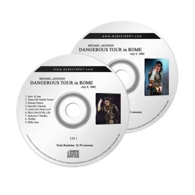 Michael Jackson Dangerous Rome Audio concert