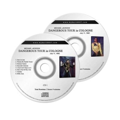 Michael Jackson Dangerous Cologne Audio concert