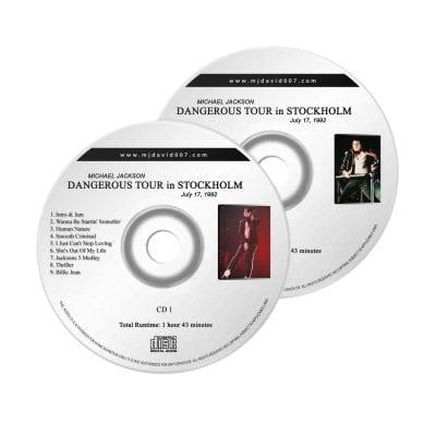 Michael Jackson Dangerous Stockholm Audio concert