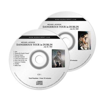 Michael Jackson Dangerous Dublin Audio concert