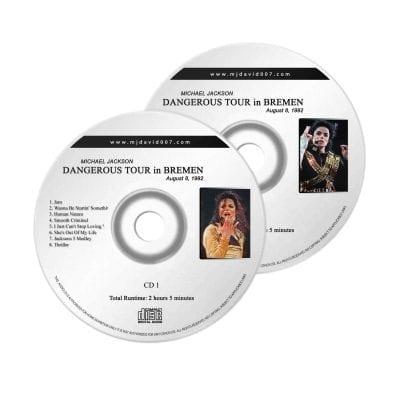 Michael Jackson Dangerous Bremen Audio concert