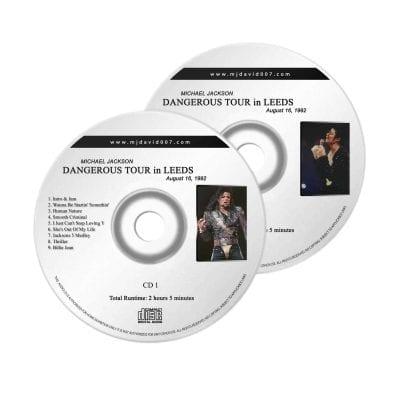 Michael Jackson Dangerous Leeds Audio concert