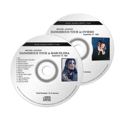 Michael Jackson Dangerous Oviedo Audio concert