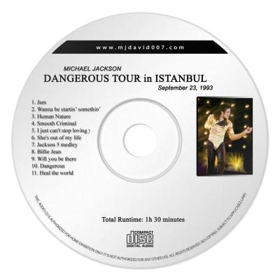 Michael Jackson Dangerous Istanbul Audio concert