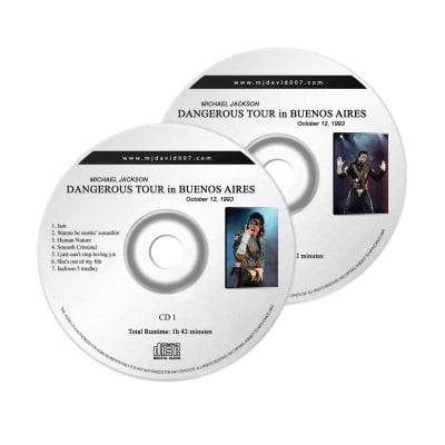 Michael Jackson Buenos Aires Audio concert