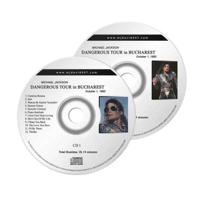 Michael Jackson Dangerous Bucharest Audio concert
