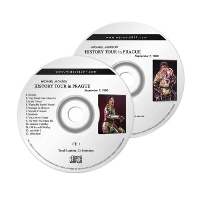 Michael Jackson History Prague Audio concert