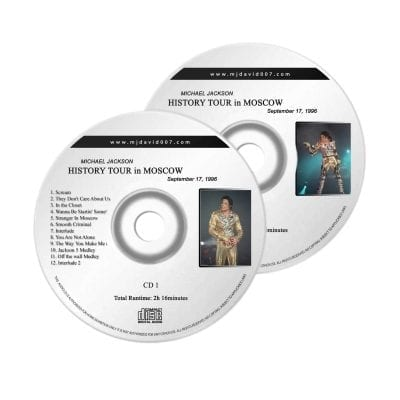 Michael Jackson History Moscow Audio concert