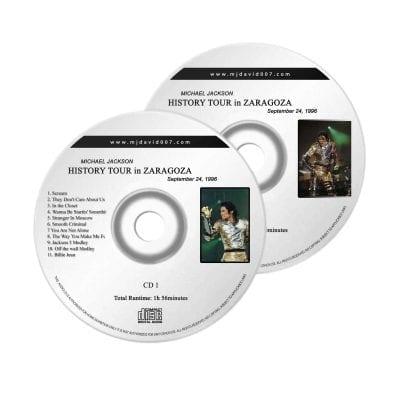 Michael Jackson History Zaragoza Audio concert