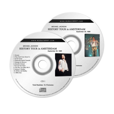 Michael Jackson History Amsterdam 1996 Audio concert