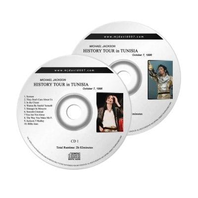 Michael Jackson History Tunisia Audio concert