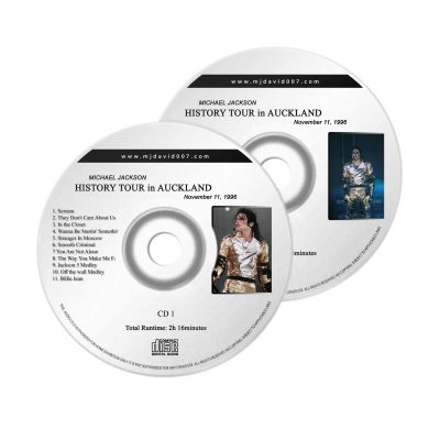Michael Jackson History Auckland Audio concert