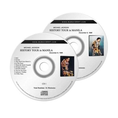 Michael Jackson History Manila Audio concert