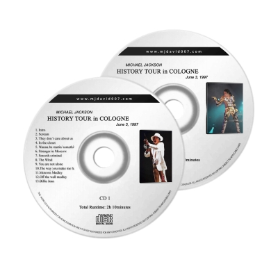 Michael Jackson HIstory Koln Audio concert