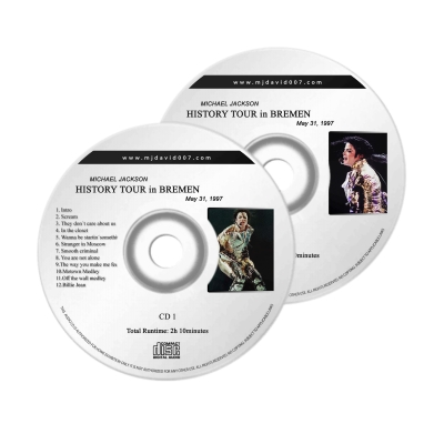Michael Jackson HIstory Bremen Audio concert