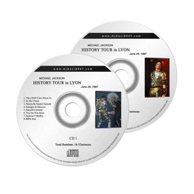 Michael Jackson History Lyon Audio concert