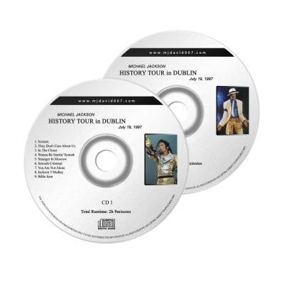 Michael Jackson History Dublin Audio concert