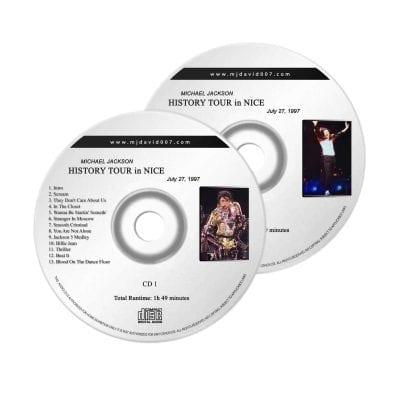 Michael Jackson HIstory Nice Audio concert