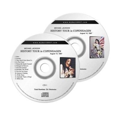 Michael Jackson History Copenhagen Audio concert