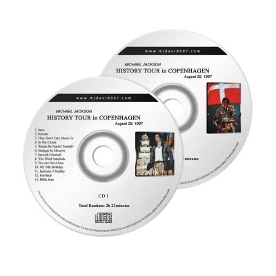 Michael Jackson History Copenhagen Birthday Audio concert