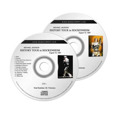 Michael Jackson History Hockenheim Audio concert