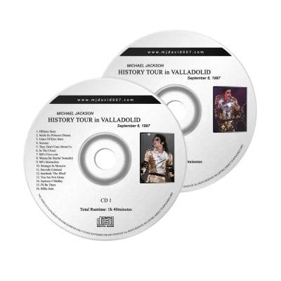 Michael Jackson History Valladolid Audio concert