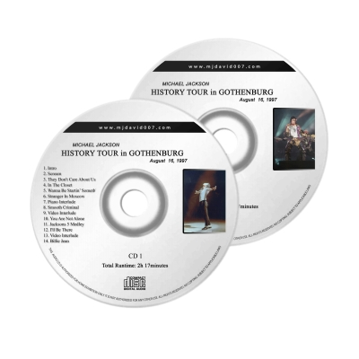 Michael Jackson History Gothenburg Audio concert
