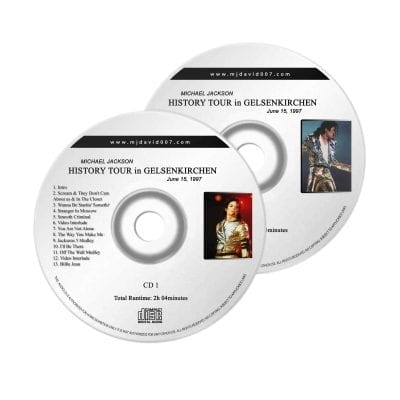 Michael Jackson History Gelsenkirchen Audio concert