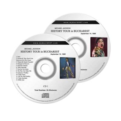 Michael Jackson History Bucharest Audio concert