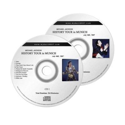 Michae Jackson History Munich Audio concert