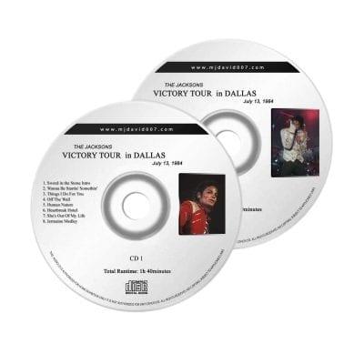Jacksons Victory Tour Dallas Audio concert
