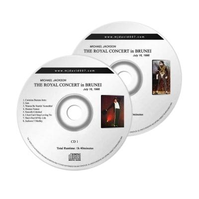 Michael Jackson Royal Brunei Audio concert