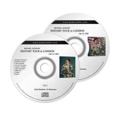 Michael Jackson History London 2nd Audio concert