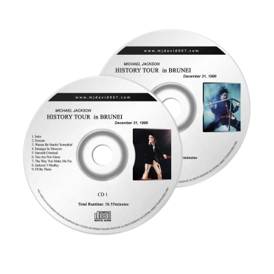 Michael Jackson History Brunei Audio concert