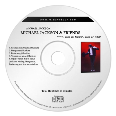 Mj & Friends 19999 Audio concert