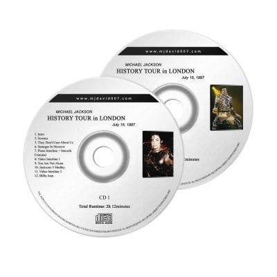 Michael Jackson History London Audio concert