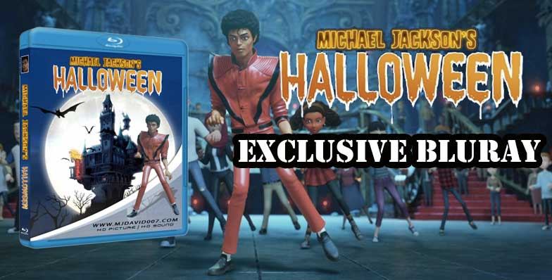 Main banner for Michael Jackson Halloween Bluray