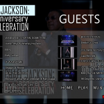 Michael Jackson 30th Anniversary Bluray Guests menu