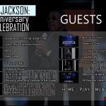Michael Jackson 30th Anniversary Bluray Guests menu