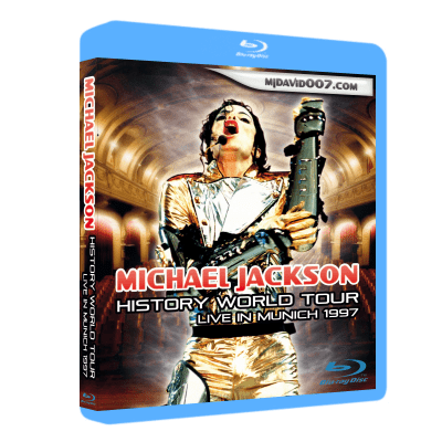 Michael Jackson HIStory Tour Munich Bluray