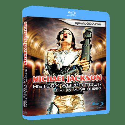 Michael Jackson HIStory Tour Munich Bluray